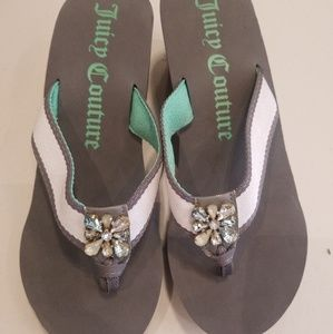 Juicy couture Wedges Slippers
